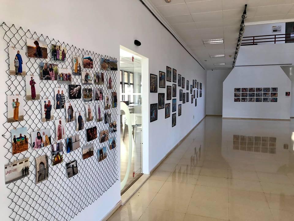 inauguración exposición fotográfica MARROC AMB VEU DE DONA